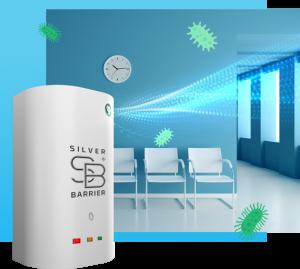 SILVER BARRIER: L'innovativo sanificatore agli ioni di argento